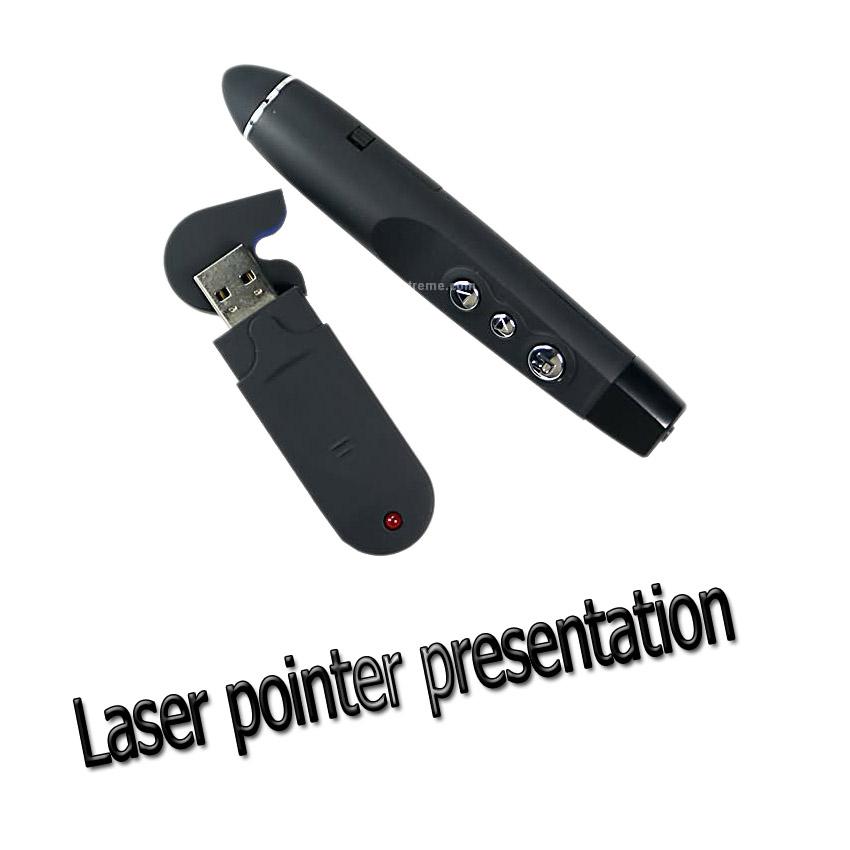 รีโมทพรีเซนไร้สายLaser pointer wireless presentationใช้กับpowerpoint
