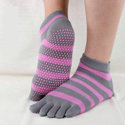 (พรีออเดอร์)YKA80-1-1 ถุงเท้าโยคะ โปรโมชั่น 2 คู่ 499 บาท