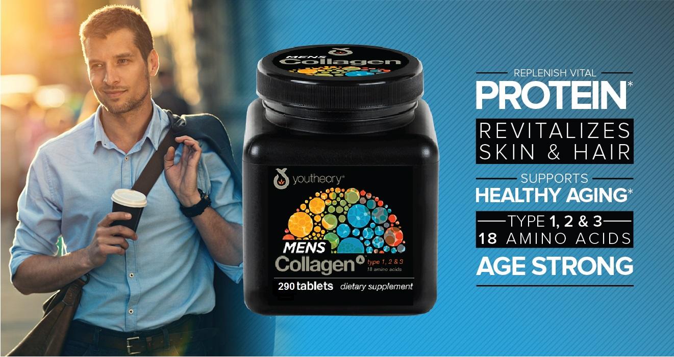 ผลการค้นหารูปภาพสำหรับ youtheory mens collagen 290 เม็ด