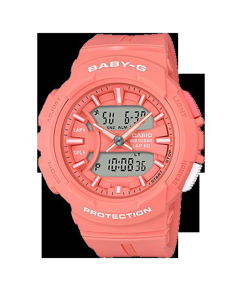 Baby-G ของแท้ ประกันศูนย์ BGA-240BC-4A เบบี้จี นาฬิกา ราคาถูก ไม่เกิน สี่พัน