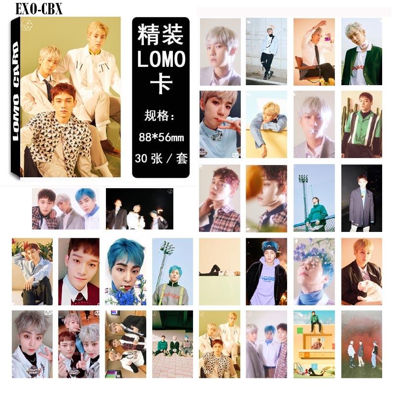 LOMO CARD EXO CBX 30รูป