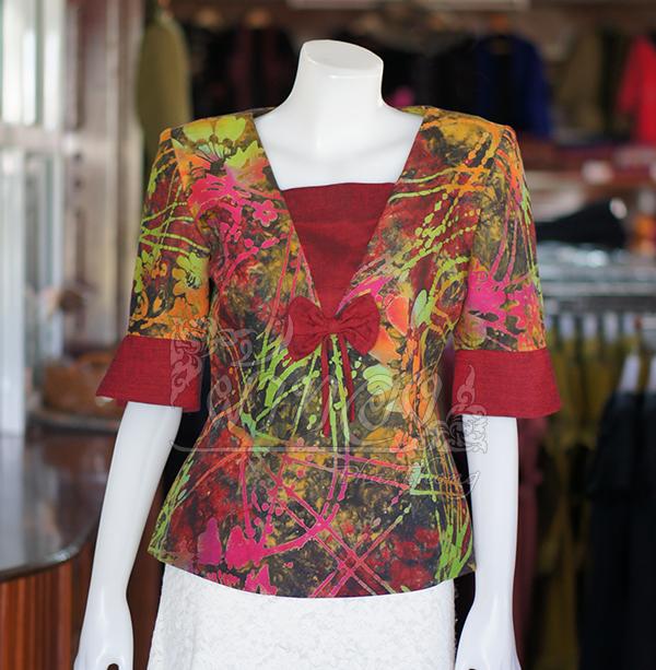 เสื้อผ้าฝ้ายบาติก ไซส์ 2XL