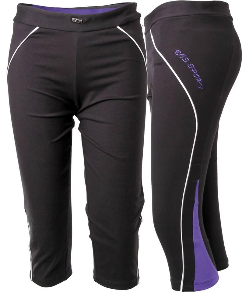 กางเกงแอร์โรบิค ขาสี่ส่วน BCS
