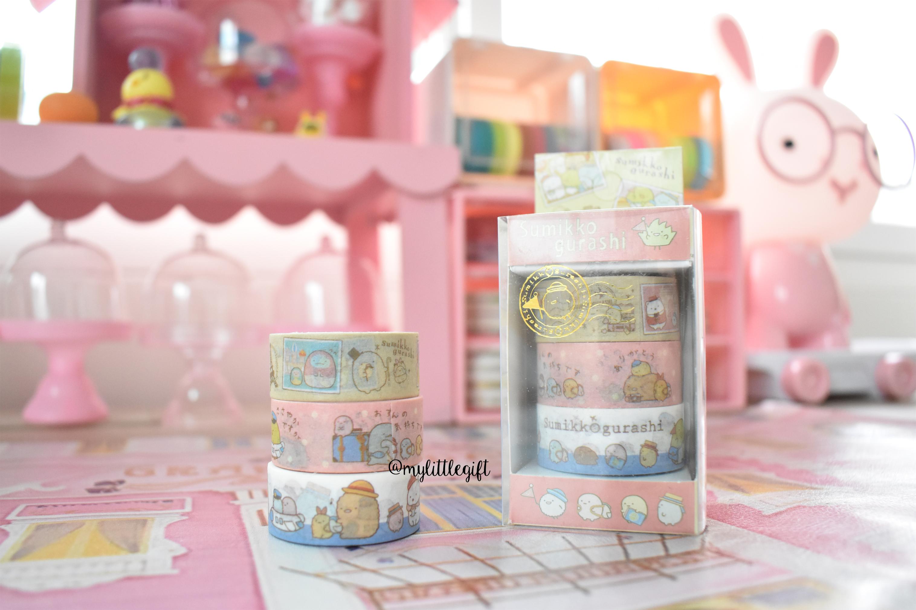 Sumikko Masking Tape Box (Set 3 pieces)