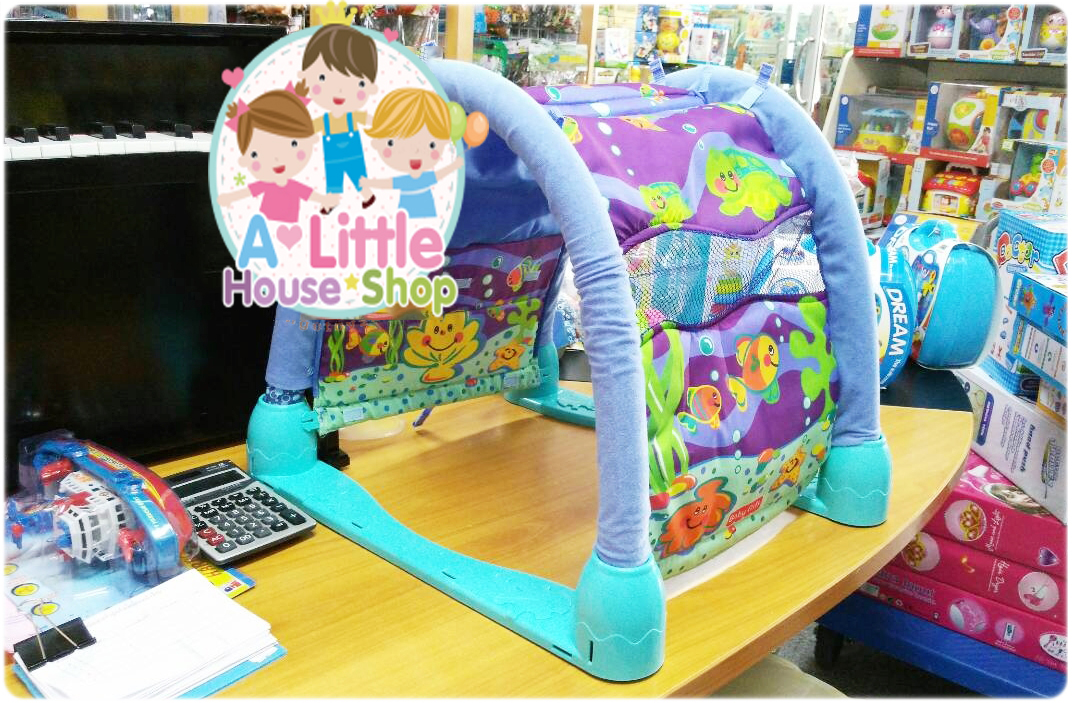 Baby Gift - Aquarium Play Gym เพลยิม ท้องทะเล โมบายสำหรับเด็ก