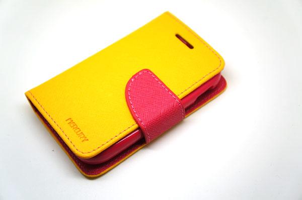 Goospery Case For Samsung Galaxy Y สีเหลือง