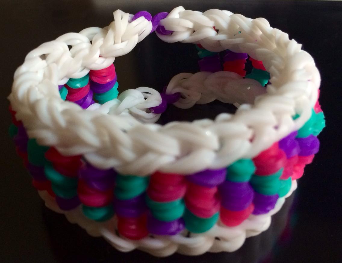 รีฟิลหนังยางถัก loom band สี Rainbow จาก diy loom braclets thailand ทำกำไลยางถัก ซิลิโคน หรือสร้อยข้อมือยางถักได้ไม่เปื่อยค่ะ