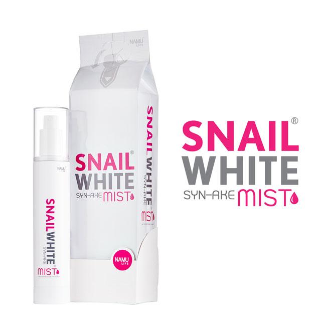 Snail White Syn-Ake Mist 100 ml. สเนล ไวท์ ซินเอค มิสท์ เอสเซนท์สเปย์ บำรุงผิวหน้าเข้มข้นสูตรน้ำ ของแท้ราคาถูก