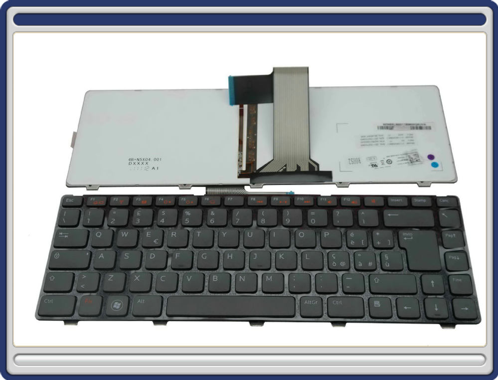 Backlit Keyboard For Vostro 3350 ,3450 ,3550 ของแท้ ประกันศูนย์ (Keyboard มีไฟ)