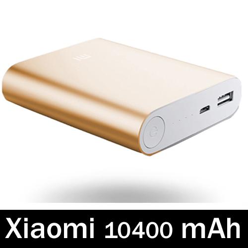 แบตเตอรี่สำรอง Xiaomi - Power Bank ความจุ 10400 mAh