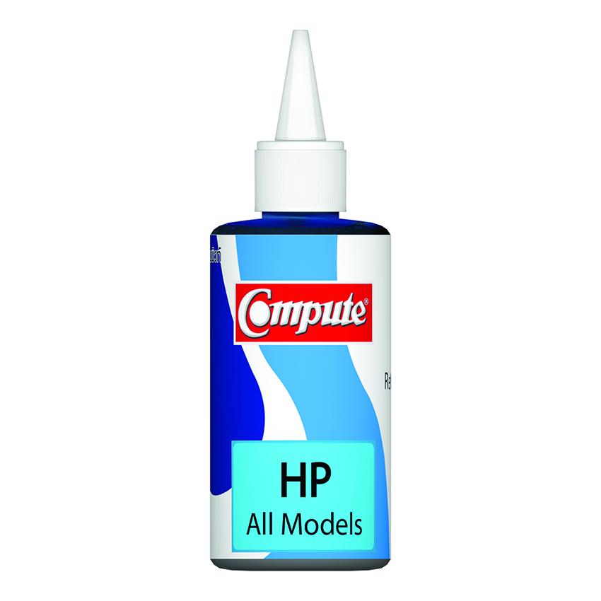 น้ำหมึกเติม (Refill Inkjet) คอมพิวท์ For HP All model Cyan