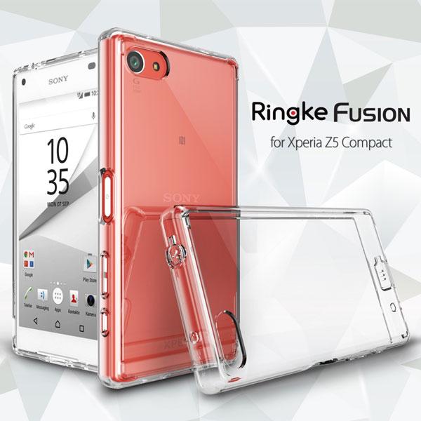 เคส Xperia Z5 Compact ของ Ringke Fusion Case