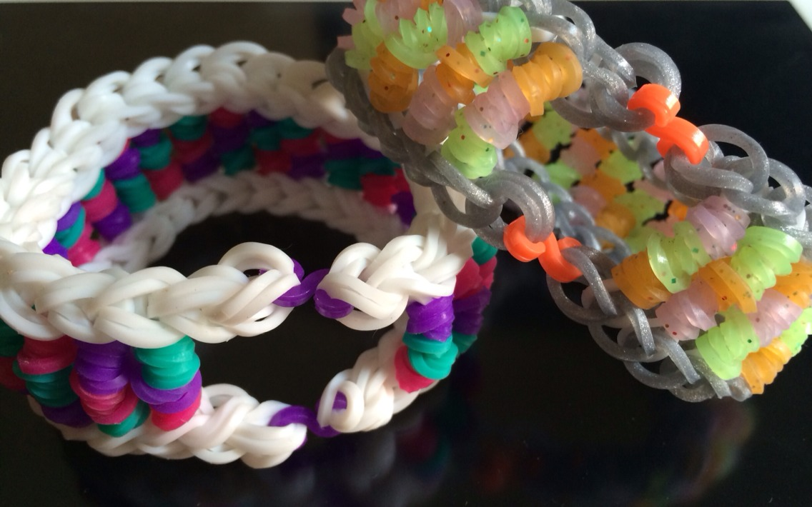 S Clips for กำไลยาง loom band Mixed Colors จาก DIY Loom Bracelets Thailand