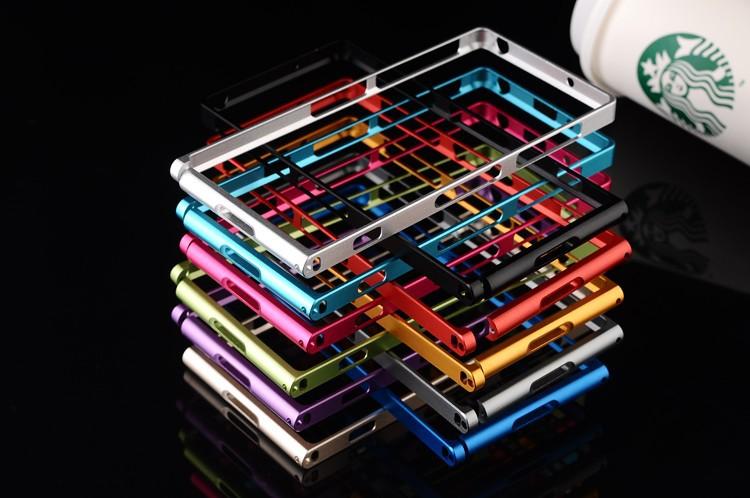 เคส Xperia Z1 แบบ Luxury Metal Bumber Case