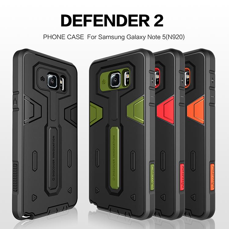 เคสกันกระแทก Samsung Galaxy Note 5 ของ Nillkin Defender ll case