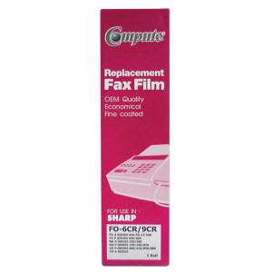 FAX FILM COMPUTE for SHARP FO-6CR/9CR