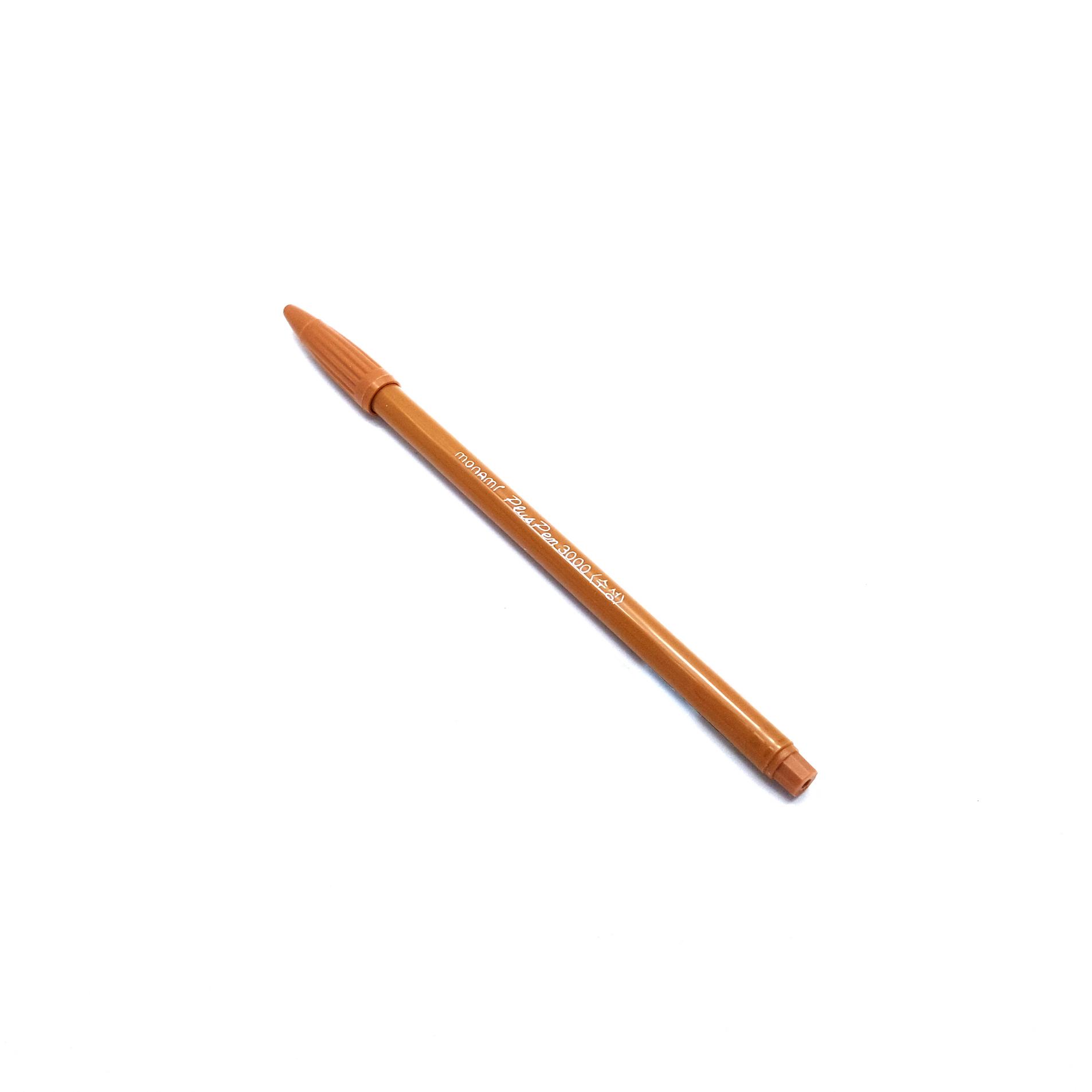 ปากกาสี Monami PlusPen 3000 - No.63 Gold Brown