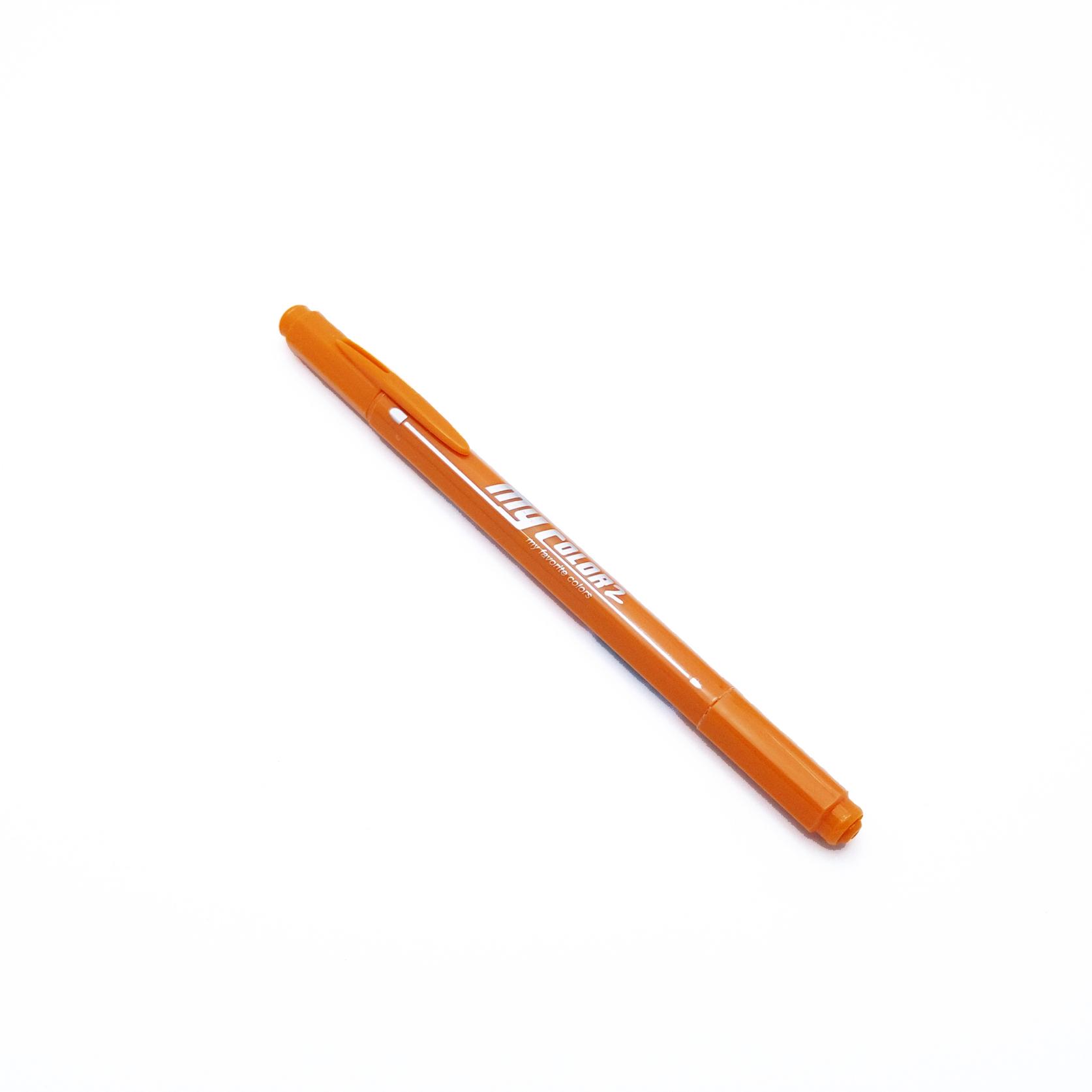 ปากกาสี 2 หัว My Color 2 - No.66 Vermillion