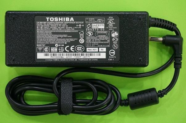 Adapter/ที่ชาร์จโน๊ตบุ๊ต /Toshiba 19V 4.74A 90W /ของแท้ประกันศูนย์ Toshiba
