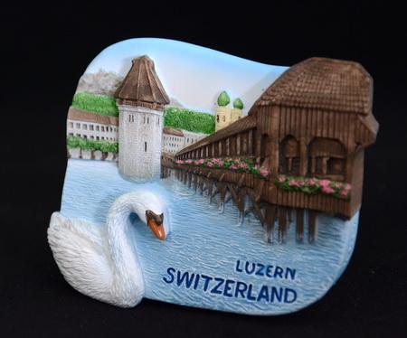 สะพานไม้ ลูเซิร์น สวิตเซอร์แลนด์, Kapellbrucke and Wasserturm, Luzern Switzerland