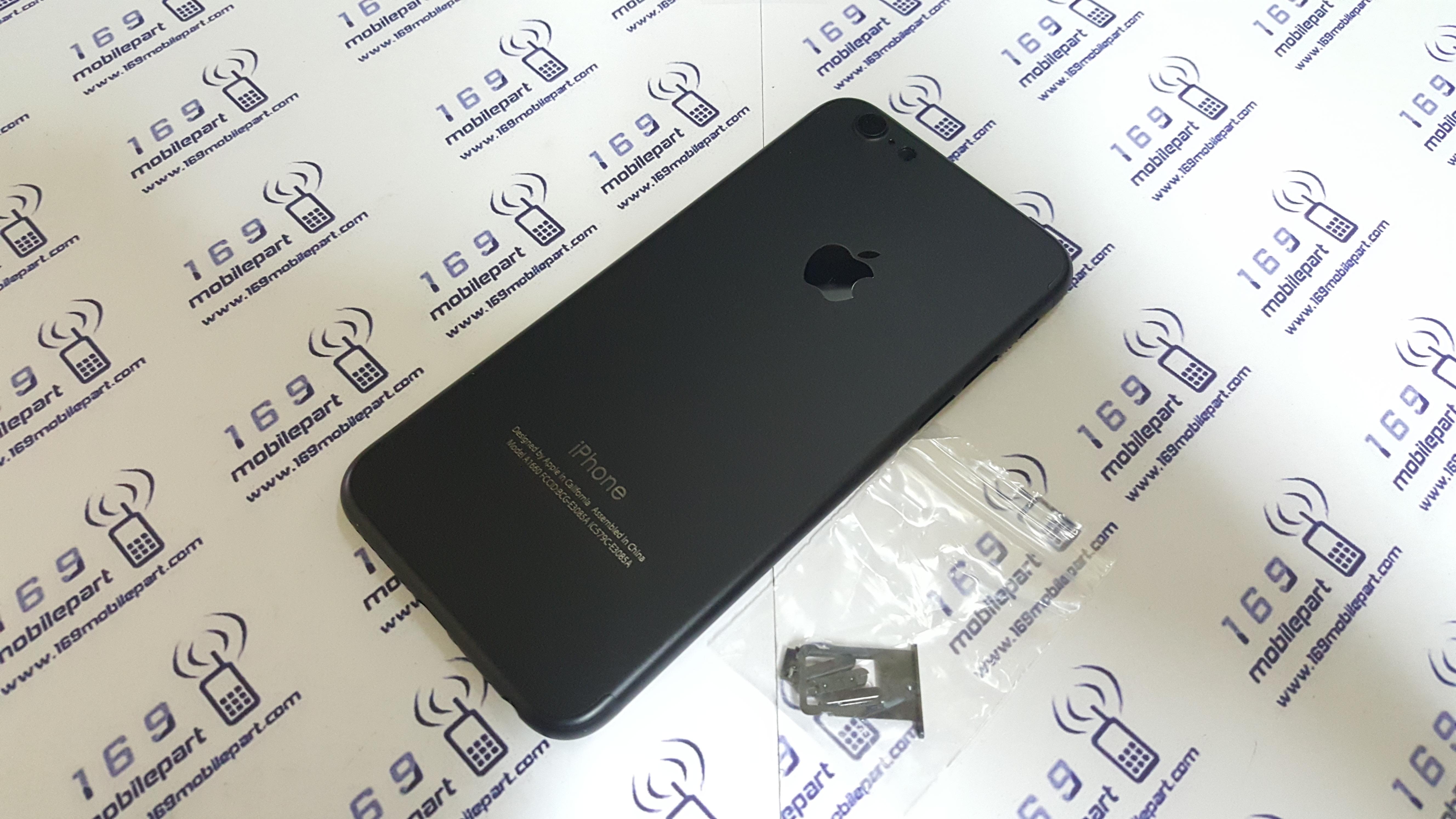 บอดี้ iPhone 6S แปลง i7 สี Jet-Black