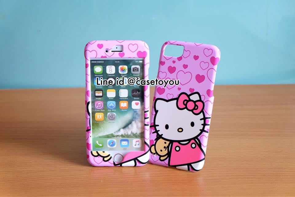 เคสประกบหน้า-หลัง Kitty 01 สำหรับ iPhone 7