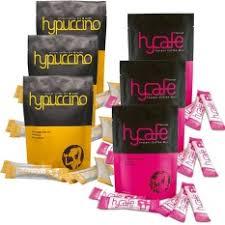 Hypuccino instant coffee mix