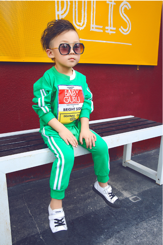 เสื้อ+กางเกงวอร์ม สีเขียว