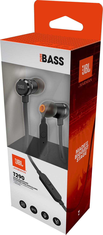 JBL T290 In-Ear Headphone - Blackราคา 1,490 บาท
