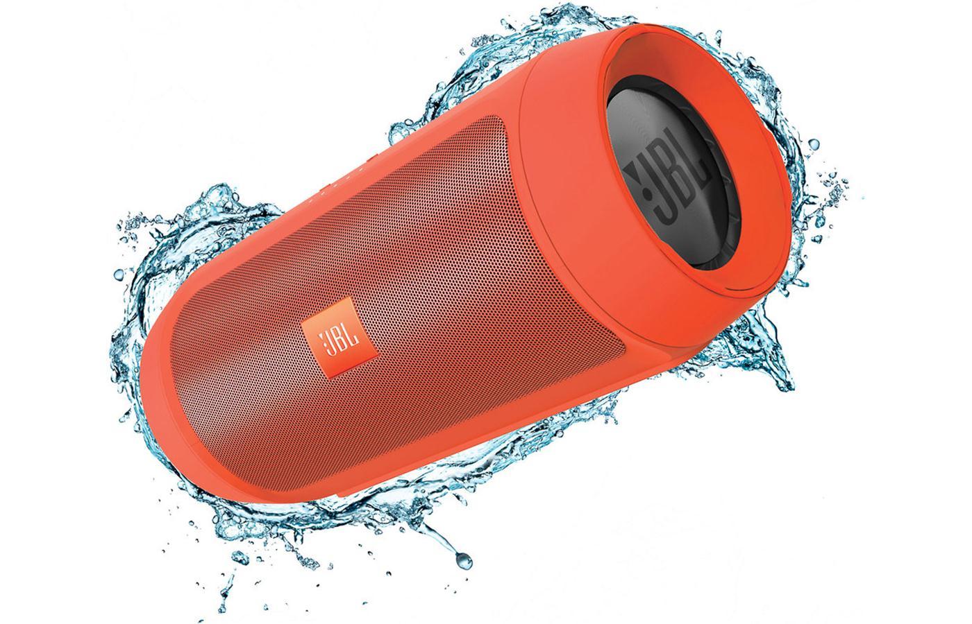 JBL Charge 2+ ลำโพงพกพากันน้ำได้ พลังเสียงเบสอิ่ม แน่น กระหึ่ม (Orange) แถมกระเป๋าฟรี 1 ใบ