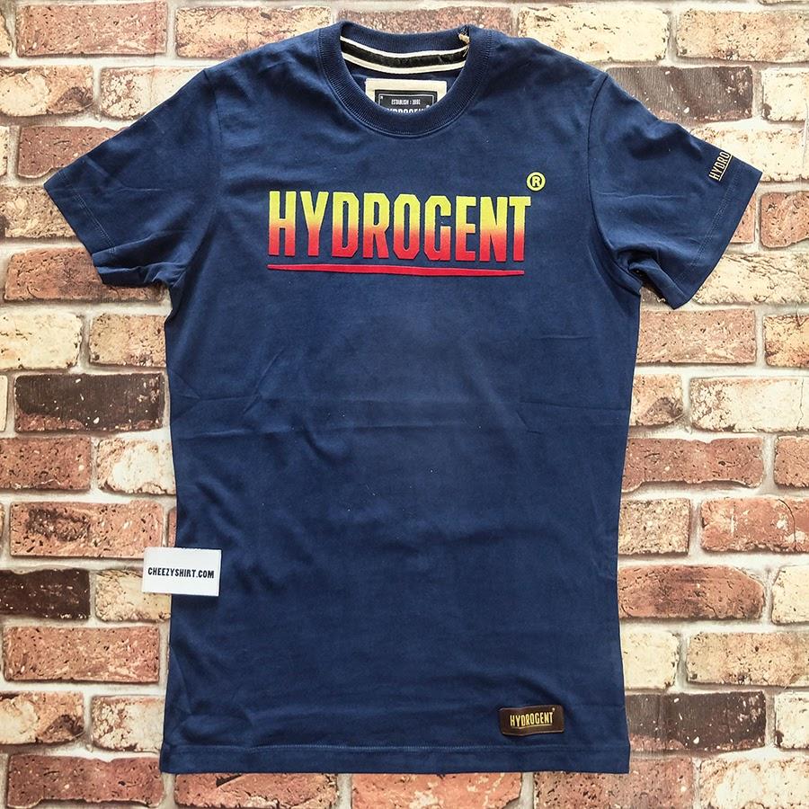 เสื้อยืดแฟชั่น HYDROGENT ไล่สี