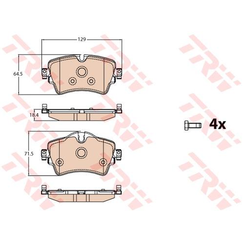 ผ้าดิสเบรค-หน้า MINI F56
