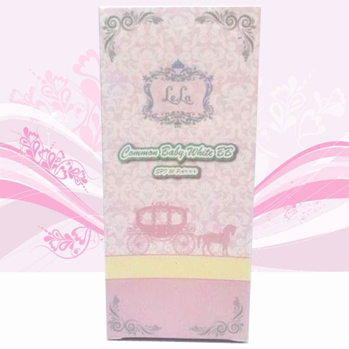 Lela Common Baby White BB Pink Base