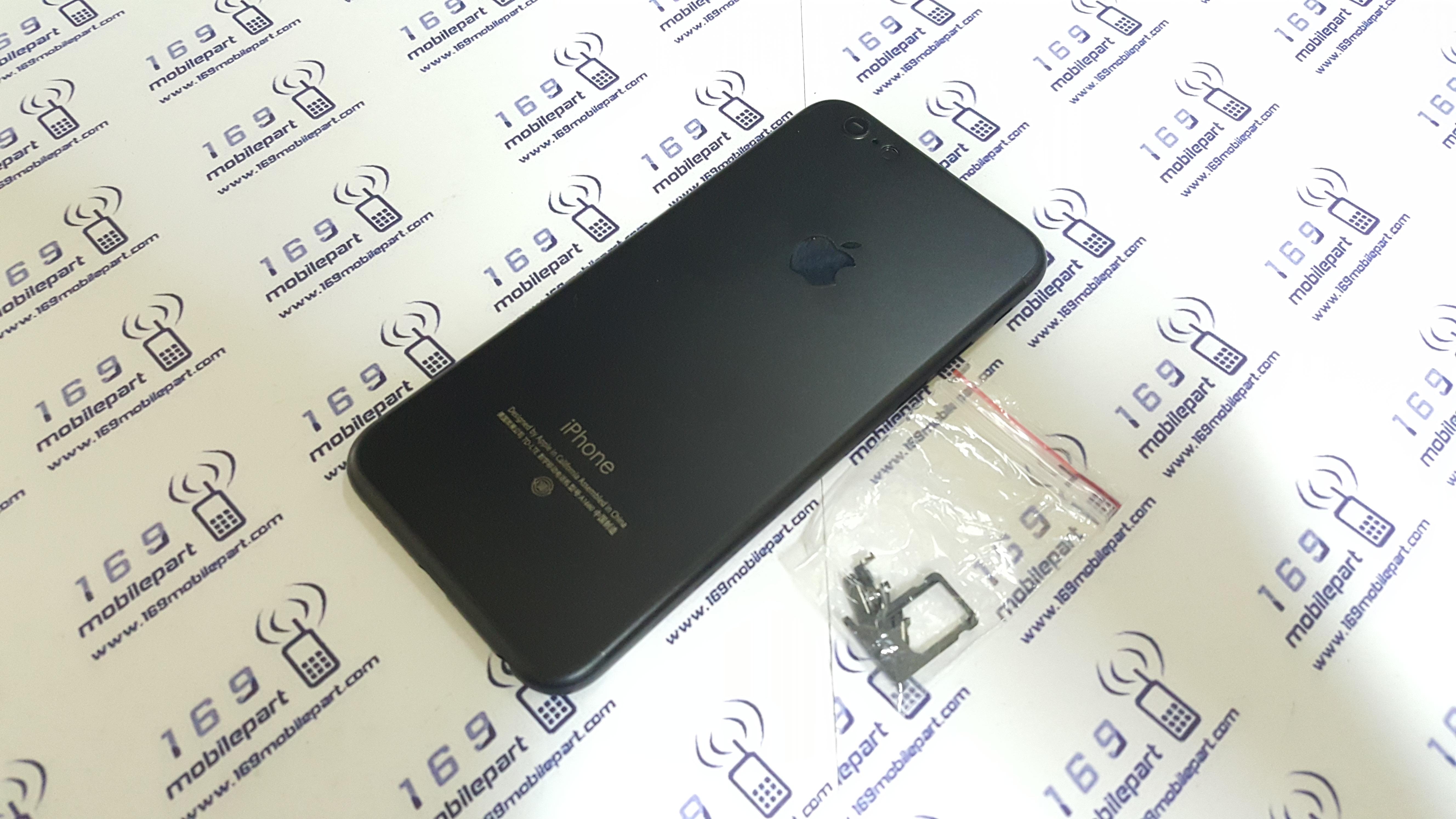 บอดี้ iPhone 6 แปลง i7 สี Jet-Black