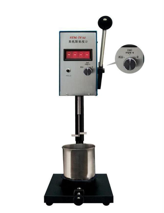 เครื่องวัดความหนืดสี (Stormer Viscometer) แบบ Digital รุ่น Stm-Iv(A) สำหรับ Paints coatings inks
