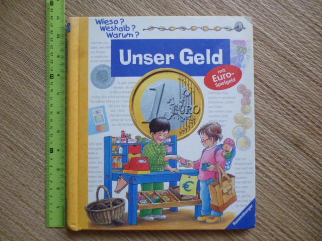 Under Geld (mit Euro-spielgeld) หนังสือความรู้ภาษาเยอรมันสอนการใช้เงิน/ ช้อปปิ้ง)