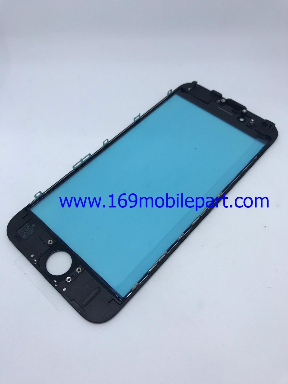 กระจก iPhone 6S พร้อมขอบจอ + กาว OCA สีดำ