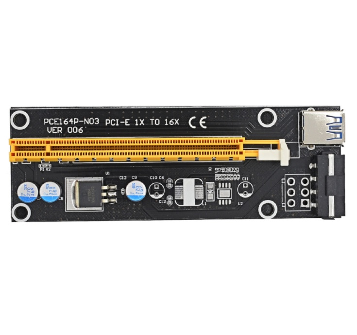 Riser Card PCI X1 to PCI X16