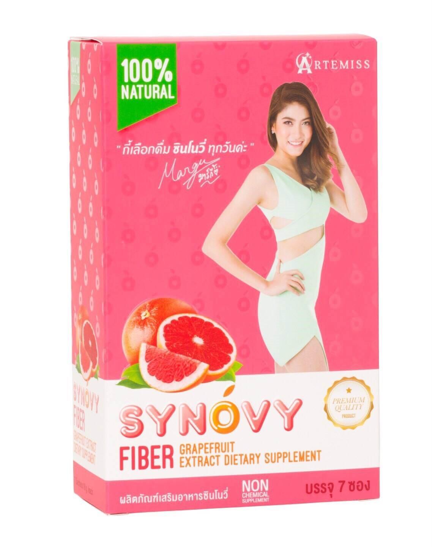 Synovy Fiber Detox ซินโนวี่ ไฟเบอร์ ดีท็อกซ์ บรรจุ 7 ซอง ราคา 690 บาท ส่งฟรี