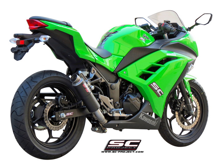 SC Project Full System GP M2 Kawasaki Ninja 300