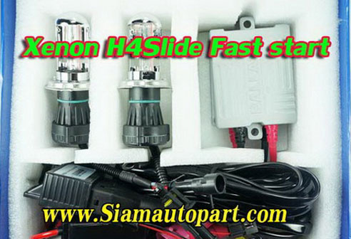 ไฟ xenon kit H4Slide Fast start Ballast A6