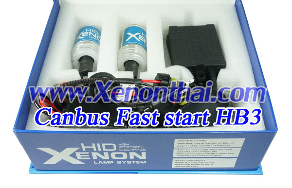 ไฟXenon kit HB3/9005 Canbus AC35W Fast start