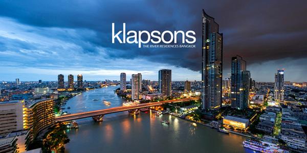 Klapsons The River Residences Bangkok( for rent)