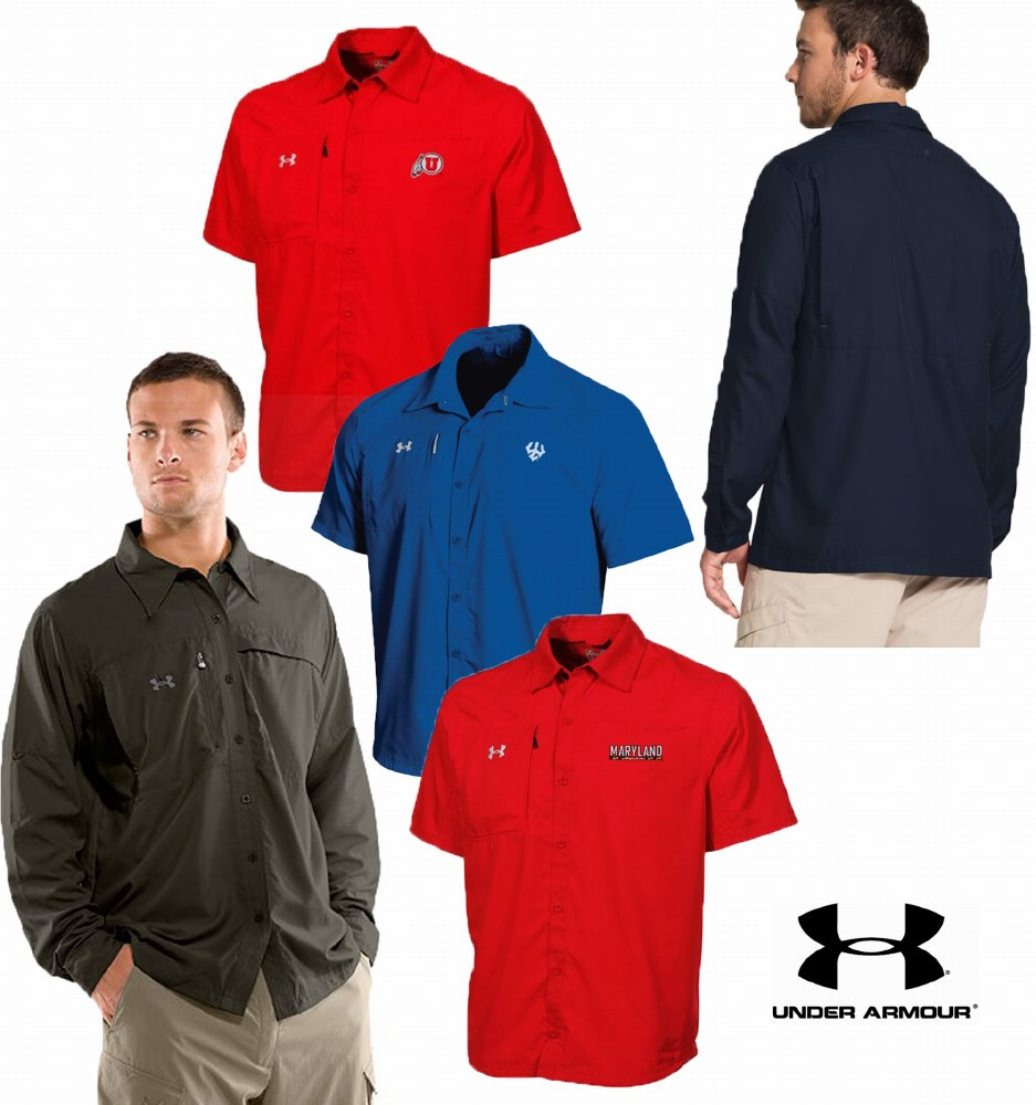 Under Armour Outdoor Shirts ( Short sleeve & Long sleeve )