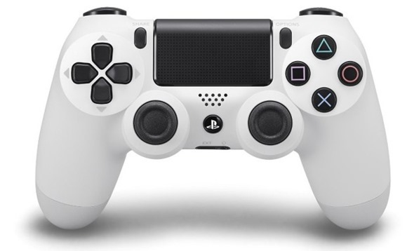 จอย PS4: Dual Shock 4 White (Warranty 3 Month)