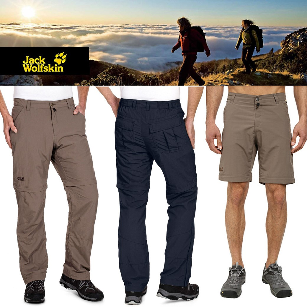 Jack Wolfskins Canyon Zip Off Pants