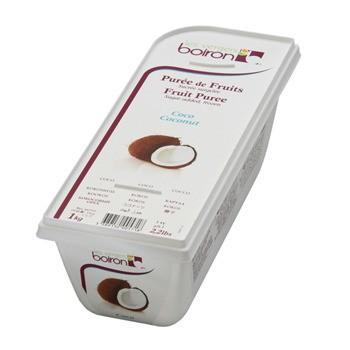Boiron coconut puree sugar add 1 kg