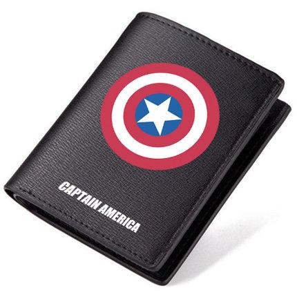 Preorder กระเป๋าสตางค์ กัปตันอเมริกา[PU] แบบ 1
