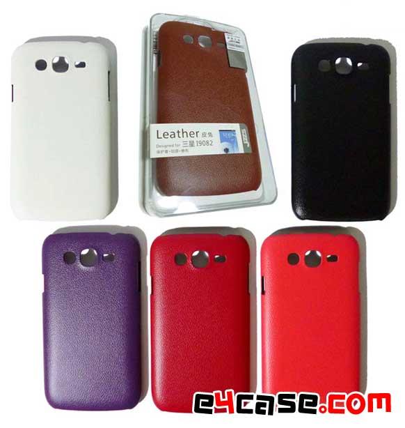 เคส Galaxy Grand (Samsung i9082) - Leather เคสลายหนัง