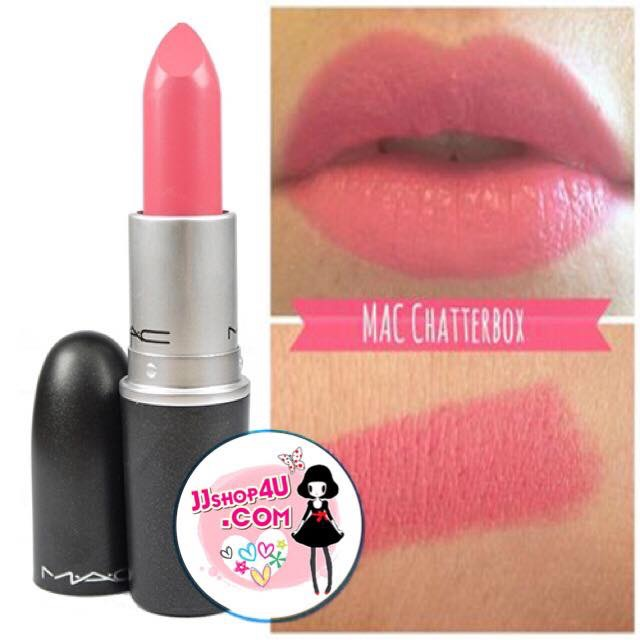 Cream Lipstick 3g # Chatterbox (ขนาดปกติ) ลิปสติกโทนชมพูอ่อน เนื้อ amplified creme ให้ความชุ่มชื้นไปในตัวด้วยค่ะ